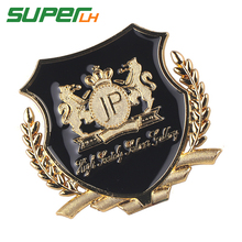 Car Styling 3D JP Junction produce Sticker Emblem Badge Decal For Lada BMW Audi Ford Focus Volkswagen Nissan Toyota Chevrolet dsycar 1 pair 3d metal turbo car sticker emblem badge for jeep bmw ford volvo nissan mazda audi vw honda toyota lada chevrolet