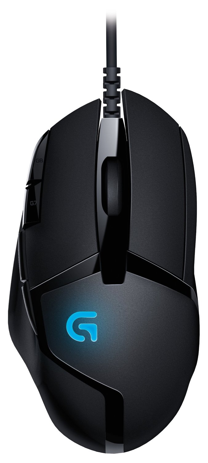 все цены на Logitech G402 Hyperion Fury FPS Gaming Mouse with High Speed Fusion Engine онлайн