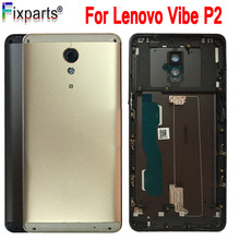 For Lenovo Vibe P2 P2c72 P2a42 Battery Door Housing Back Cover Rear Case Replacement Parts