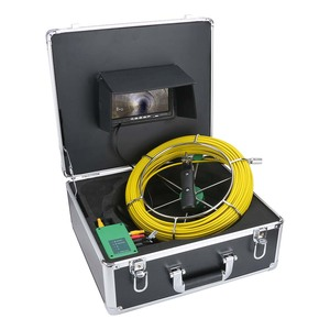 Image 4 - Mountainone 7 インチ 17 ミリメートルパイプ下水道検査ビデオカメラ排水管下水道検査カメラシステム 1000 tvl 20 メートル 30 メートル 40 メートル 50 メートル