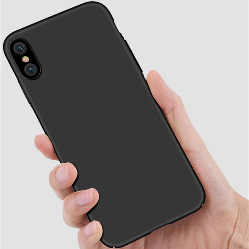 Для iphone х чехол Пластик Жесткий Smooth задняя крышка Carcasa Капа для IPhone X телефон 360 полная защита тонкая кожа В виде ракушки Корпус