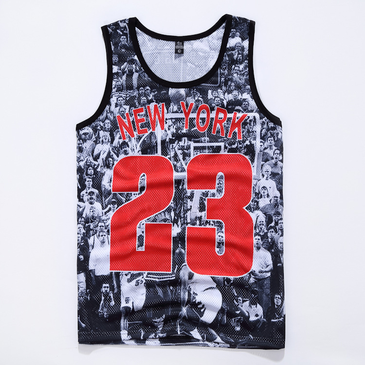 44ca3485ad9 Cool Design 3D Print 23 Jordan Last Shooting Graphics Vest Summer  Sleeveless Tank Tops Breathable Mesh Waistcoat Jersey Camiseta-in Tank Tops  from Men's ...