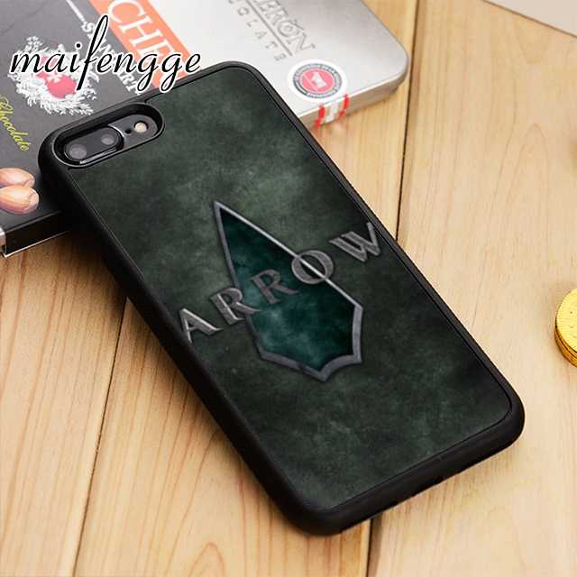 Чехол maifengge Green Arrow Man Movie Coque для телефона iPhone 5 6 6s 7 8 plus 11 pro X XR XS max samsung S7 edge S8 S9 S10
