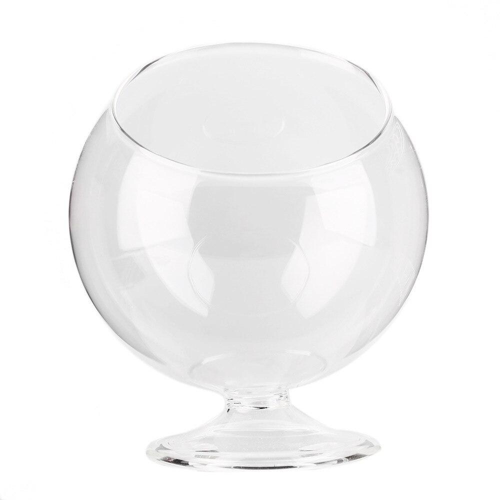 Home Deco Hydroponic Aquarium Fish Glass Vase Tank Plant Container Terrarium  Popular New