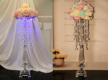 new year high-grade acrylic beads wedding flower holder cake stand celebration party  bar decoration/ home table decoration