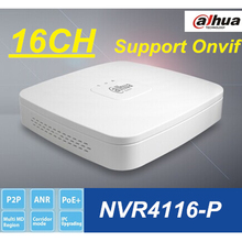 Dahua NVR4116-P 16CH network video recorder Up to 5MP 1080P H.264 16 Channel Onvif NVR NVR4116-P,Free shipping