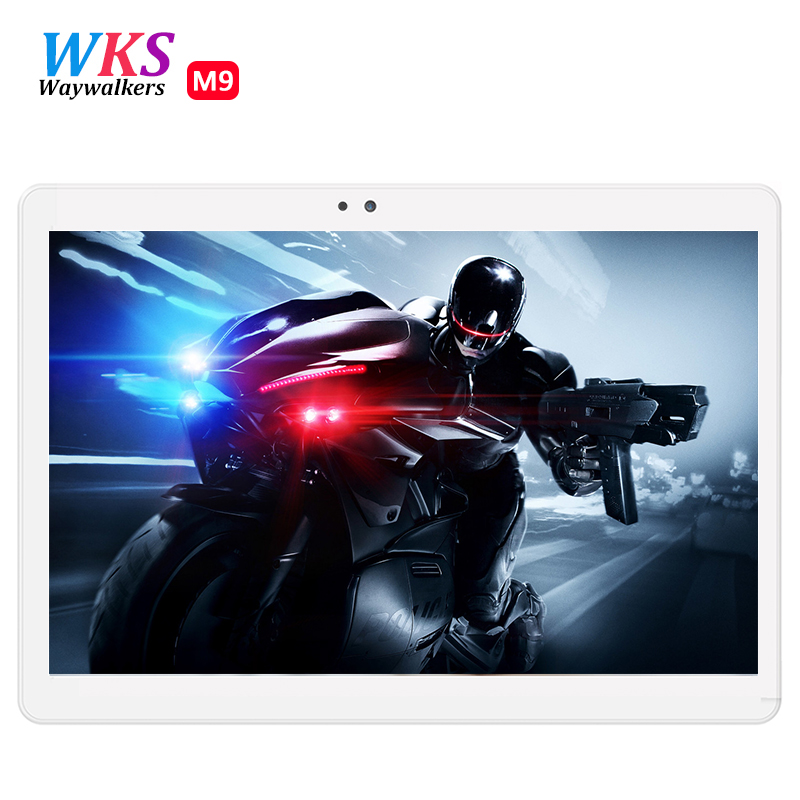 NEW 10.1 inch Tablet PC 1200*1920 IPS 5GB Ram 64GB Rom Dual Camera GPS Dual 4G Tablets Phone Android 6.0 MTK MT8752 Octa Core