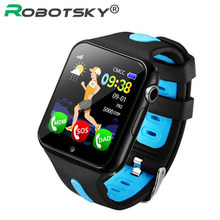 V5K Smart Watch Children Kids Band GPS Track Sports Smartwatch Support SIM /TF Dial SOS Call Positioning For Baby Gift Watches(China)