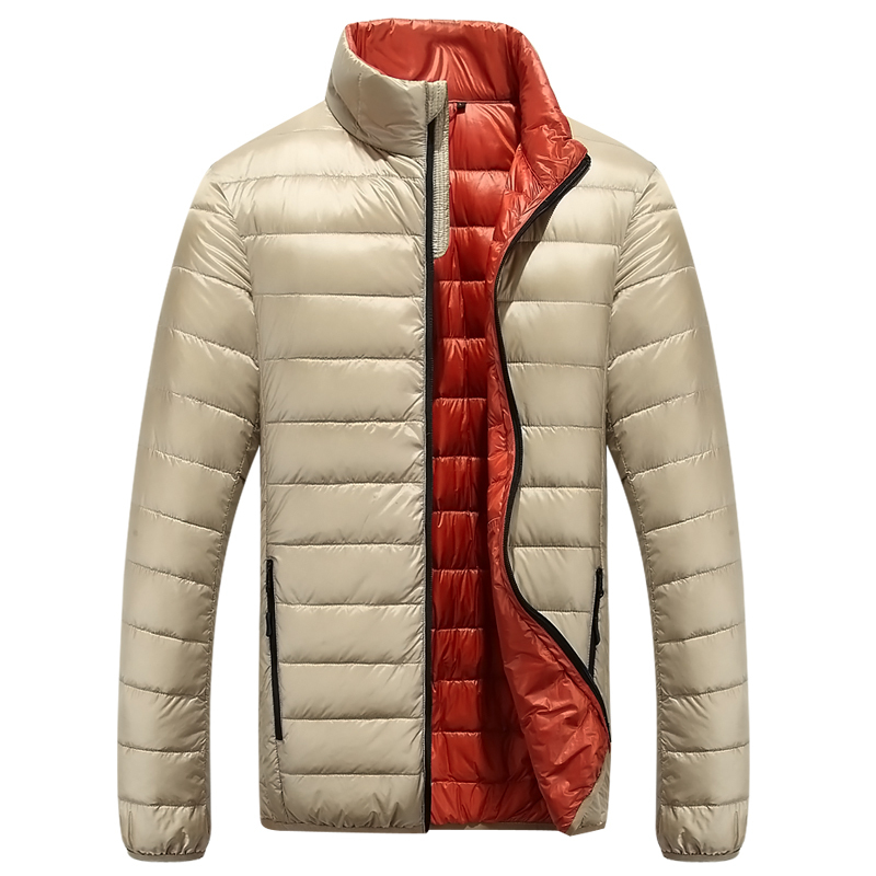 Casual Ultralight Mens Duck Down Jackets Autumn And Winter Jacket ...