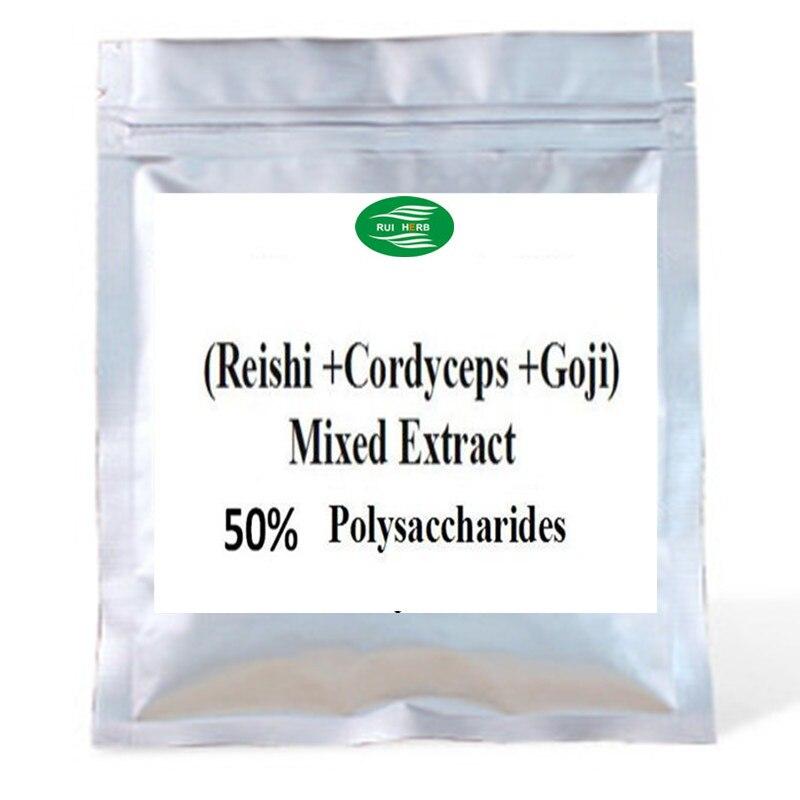 300-1000 grama (cordyceps + reishi + goji)