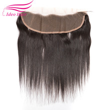 Brazilian Virgin Human Lace Frontal Closure Straight With Baby Hair Full Frontal Lace Closure 13×4 Frontals Rosa Hair Products
