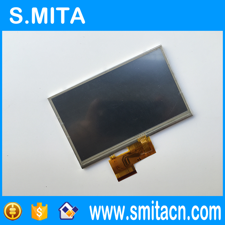 Original 5'' inch TFT LCD screen display + touch screen digitizer for AUO A050FW02 3 5 tft lq035q7dh06 lcd screen display with touch screen digitizer for mc7090 mc7094