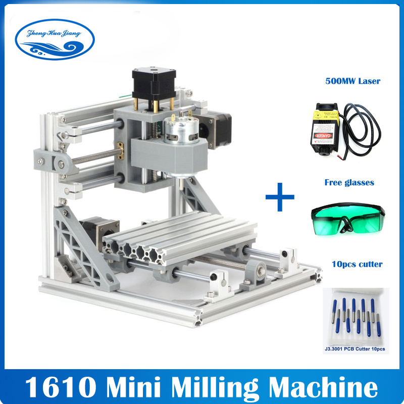 CNC 1610+500mw laser GRBL Diy mini CNC machine high power laser engraving machine,3 Axis pcb Milling machine,Wood RouterCNC 1610+500mw laser GRBL Diy mini CNC machine high power laser engraving machine,3 Axis pcb Milling machine,Wood Router