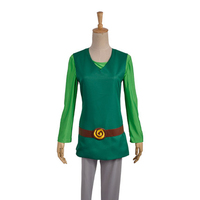 The Legend Of Zelda Four Swords Adventures Green Link Cosplay Costumes Stage Clothes Perfect Custom For