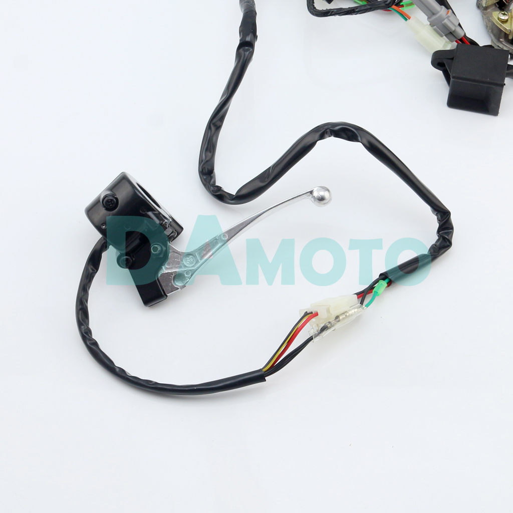 Yamaha Pw50 Ignition Coil Wiring Diagram Auto Loom Harness Cdi Magneto Start Switch Brake Lever For Ford Electronic