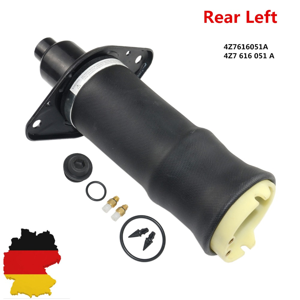 AP01 Left Rear Air Suspension Bag Air Spring Air Shock Repair Kit Suspension Kit Fit for Audi A6 C5 4Z7616051A