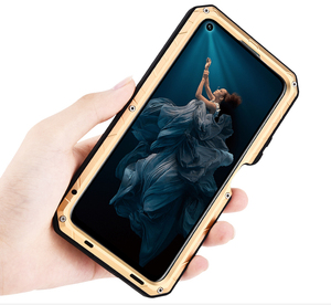 Image 4 - Original IMATCH Daily Waterproof Case For Huawei Honor 20 20 Pro Luxury Metal Silicone Cover Coque Full Protection Phone Cases