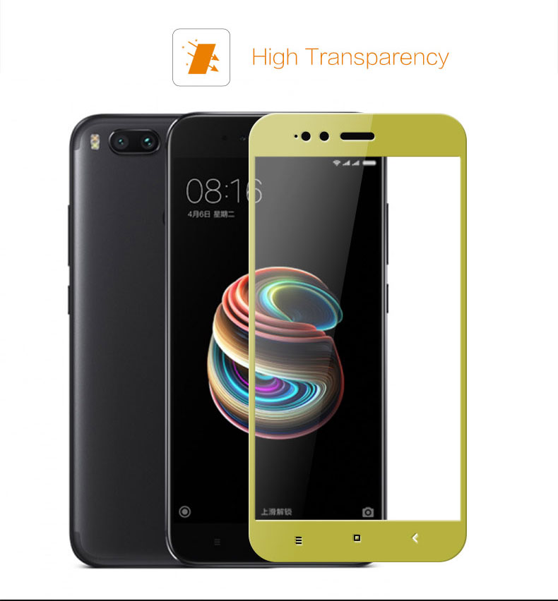 Tempered Glass MI A1 High Transparency