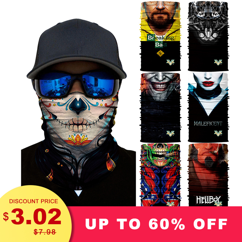 Apparel Accessories Unisex Outdoor Hiking Scarf Seamless Bandana Motorcycle Elastic Neck Gaiter Tubular Shemag Buffe Magic Airsoft Mask Headwear Uv With A Long Standing Reputation