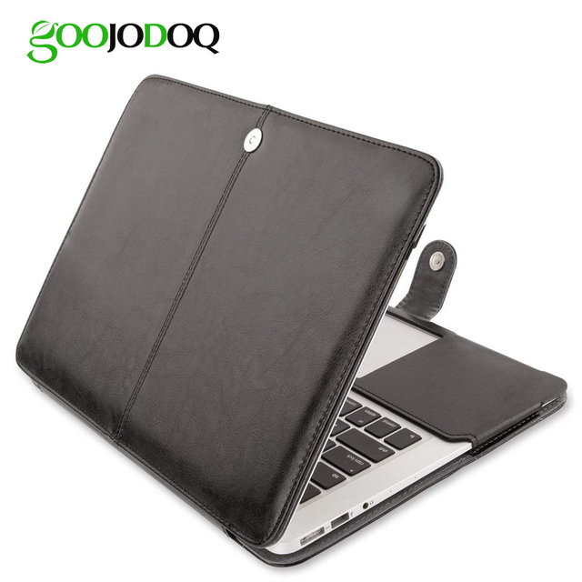 """PU Leather Case for Macbook Air 11 Air 13 Pro 13 Pro 15"""" New Retina 12 13 15 Case Cover for Apple Macbook 14″ 13.3″15.4″ 15.6″"""