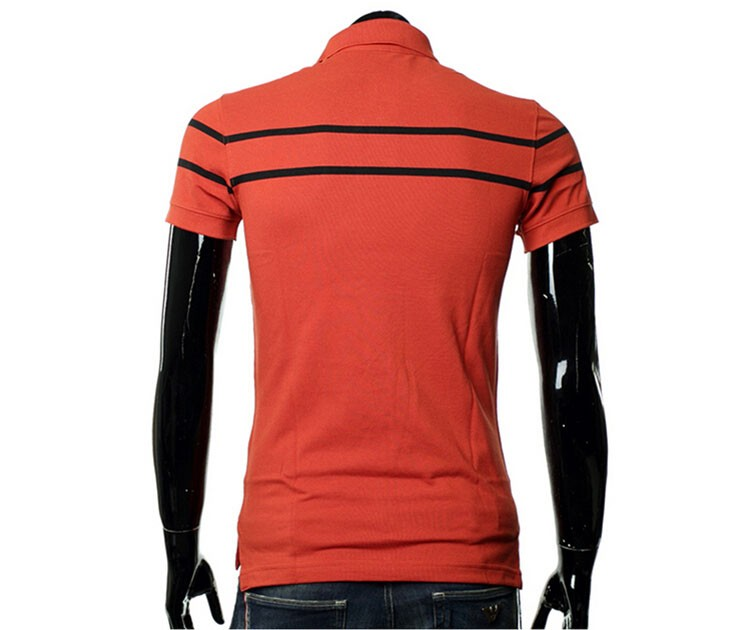Polo Men Fashion Casual Classic Striped Golf Polo Shirt Slim Fit Summer Cotton Short Sleeve Tee Camisa Polos Homme Plus Size 3XL (12)