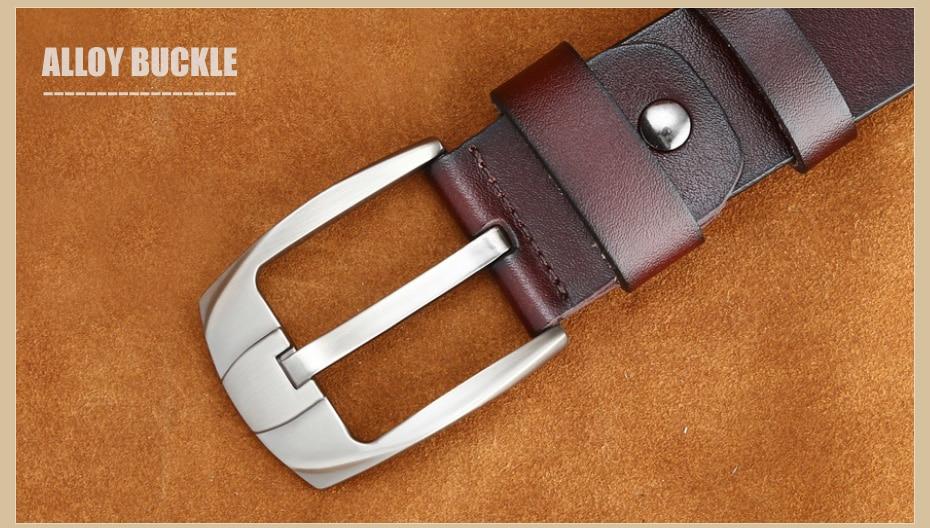 [MILUOTA] 2016แฟชั่นออกแบบเข็มขัดผู้ชายที่มีคุณภาพสูงวัวแท้สายหนังผู้ชายเข็มขัดMU065 31