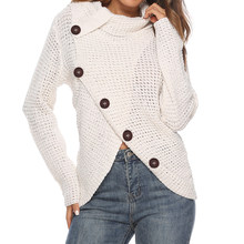 AVODOVAMA M New High Quality Autumn Winter Women Knitted Sweaters Long Sleeve Buttons Female Pullovers Tops(China)