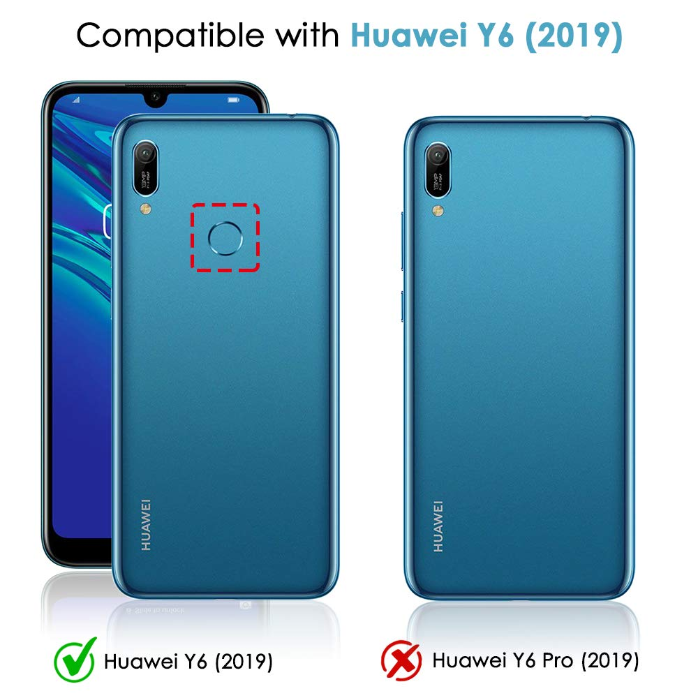 Transparent Soft TPU Case For Huawei Y6 2019 Coque Huawei Y6 2019 Y6 Pro Y6 Prime 2019 Y62019 Silicone Silm Protective Cover in Fitted Cases from Cellphones Telecommunications