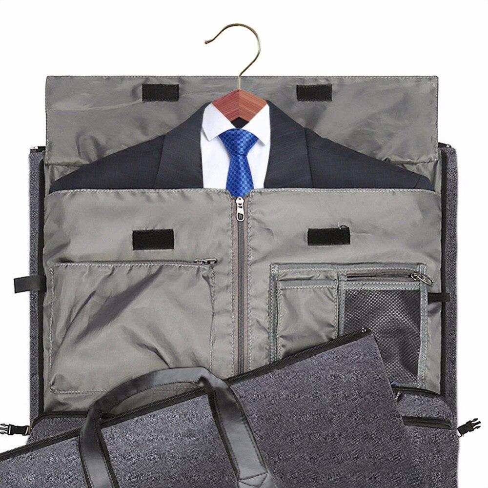 Modoker ใหม่กระเป๋าเดินทางกระเป๋าสะพายสายคล้องกระเป๋าแฟชั่นธุรกิจกระเป๋าถือแขวนเสื้อผ้าหลายกระเป๋าคุณภาพสูง-ใน กระเป๋าเดินทาง จาก สัมภาระและกระเป๋า บน AliExpress - 11.11_สิบเอ็ด สิบเอ็ดวันคนโสด 2