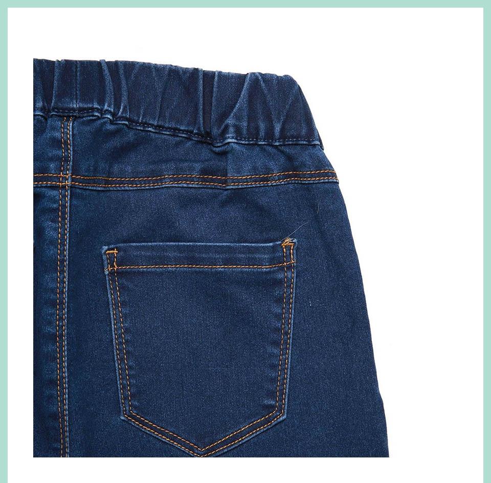 Autumn Winter minimalist Women Denim Skinny Legging Stretch Fake Front Pocket Medium Waist Washed Blue Slim Elastic Lady Jeans 17