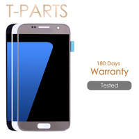AAA Quality 5 1 Super AMOLED Screen For SAMSUNG Galaxy S7 LCD Display G930 G930F SM