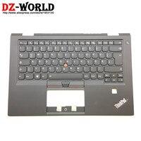 Новый оригинальный для Lenovo ThinkPad X1 Carbon 4th Gen 4 mt: 20fb 20fc гр Пособия по немецкому языку клавиатура с подсветкой с palmrest 01av202 01av163