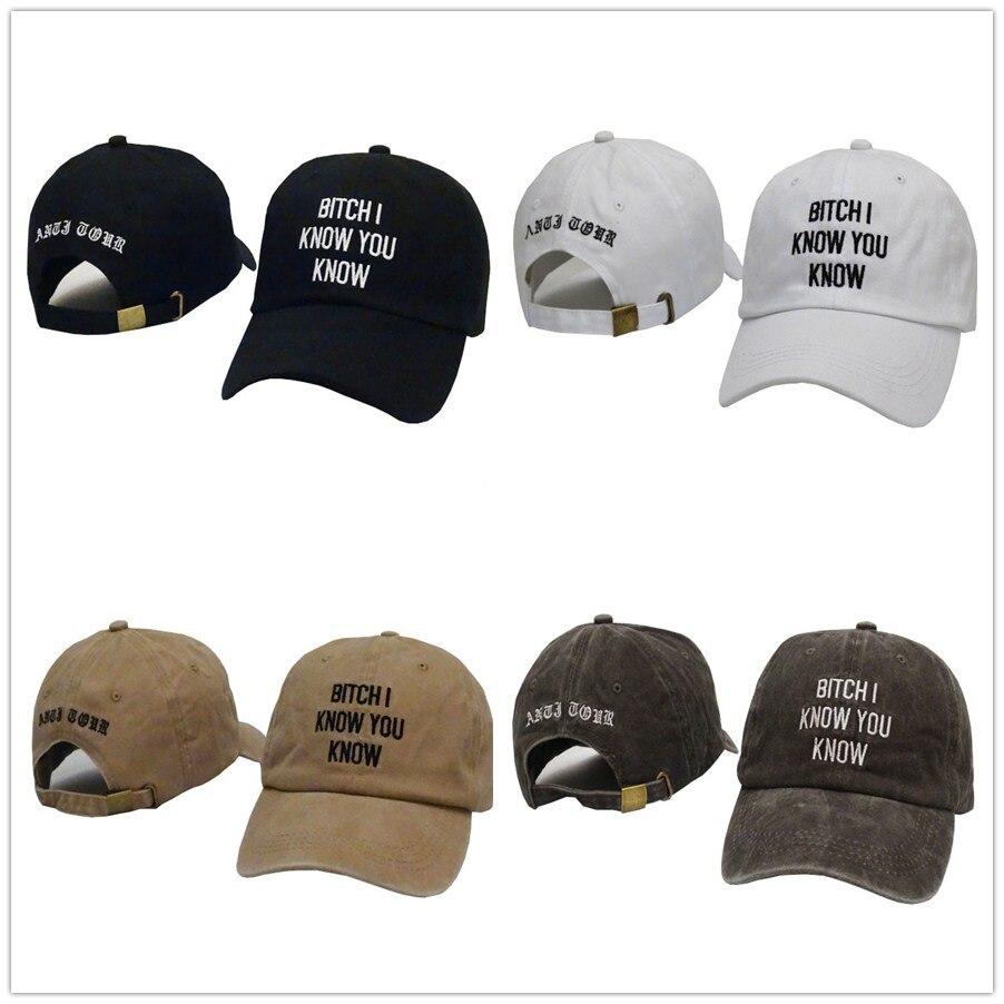 Cheap Rihanna Anti Tour Snapback Hats Fashion Brand Men Adjustable Hip Hop Baseball Caps Women Hat Casquette Girls Sun Visor Cap
