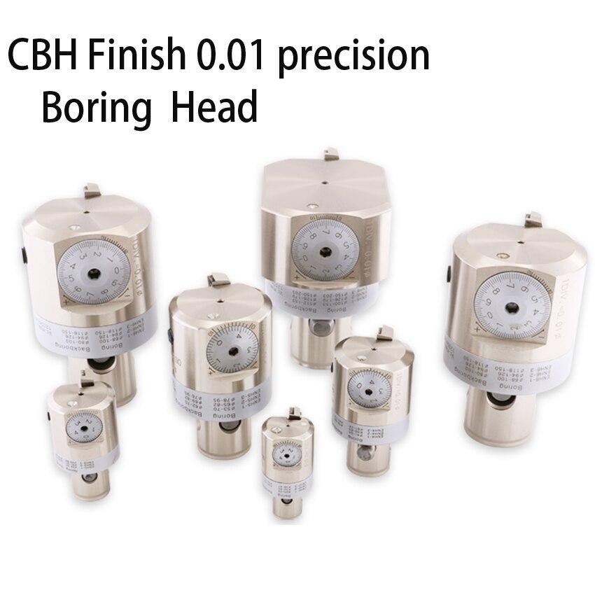 Alibaba regolabile 0.005 finitura EW CBH 25-47 testa di Foratura 0.005 millimetri di Grado aumentare CNC LBK2 Laminatoio di CNC noioso di lavorazione