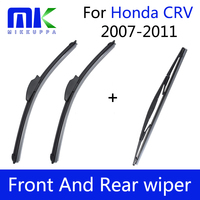 Спереди и сзади дворников для Honda CRV CR-V 2007 2008 2009 2011 2010 лобовое стекло ветрового стекла авто средства укладки волос