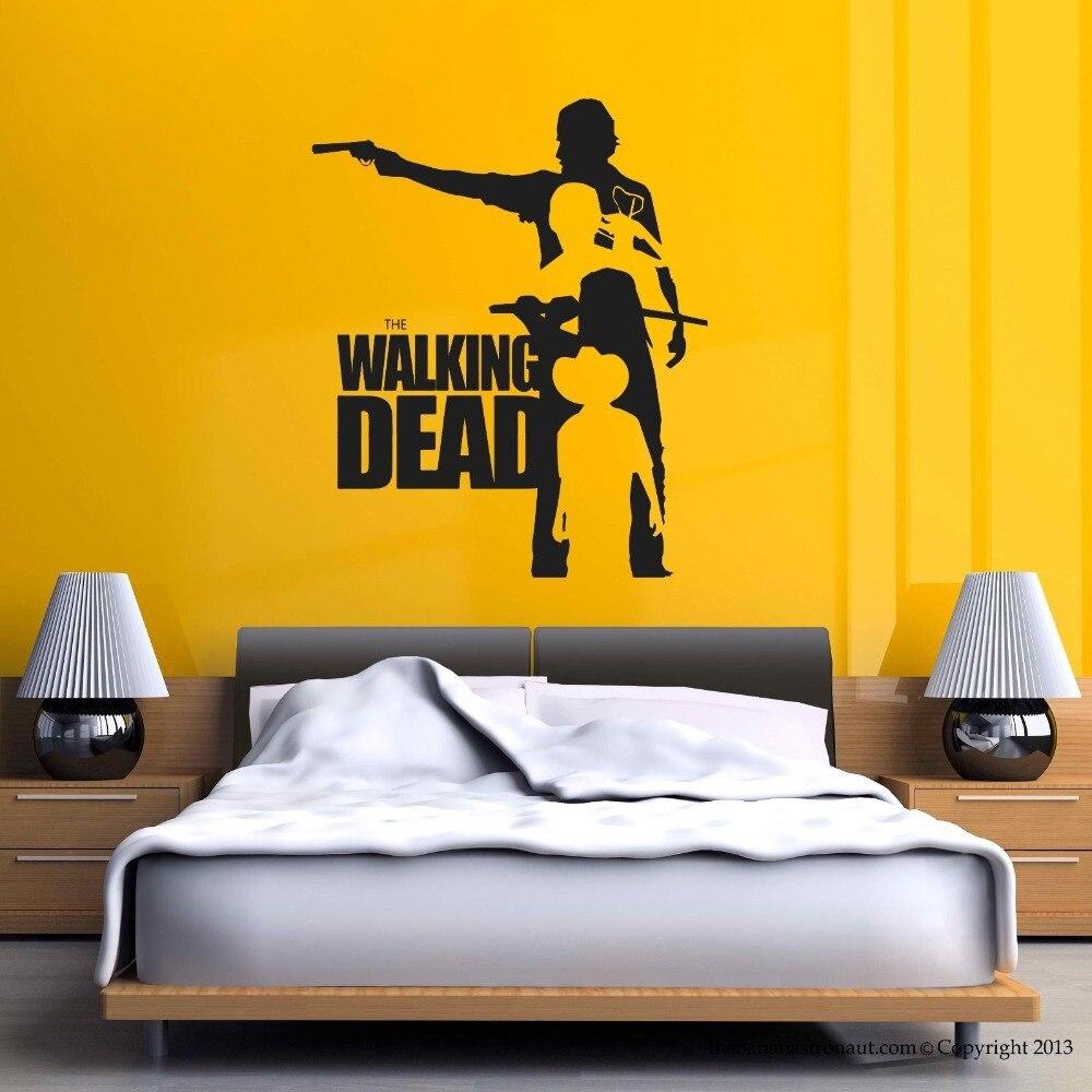 Walking Dead Vinyl Wall Sticker Walking Dead Collection Mural Wall ...