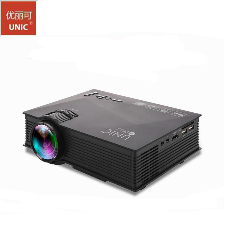 Uc46 1200lumens full hd mini wifi led portable projector for Mini wifi projector review