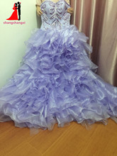 Lavender Quinceanera Dresses Ball Gown With Beads Cheap Quinceanera Gowns Sweet 16 Dresses Vestidos De 15 Anos