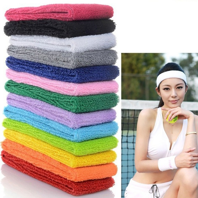 Haimeikang Hair Accessories for Women Girls Candy Color Headband Sport Elastic Hair Band Wide Soft Headband Lady Hair Band