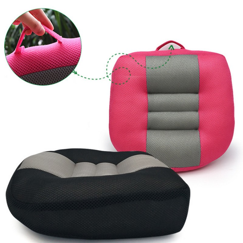 NEWEST Orthopedic Increase Seat Cushion Almofada Coussin Car Seat Cushion Increased Thick Non-slip Mat Seat Cushion Back Pillow