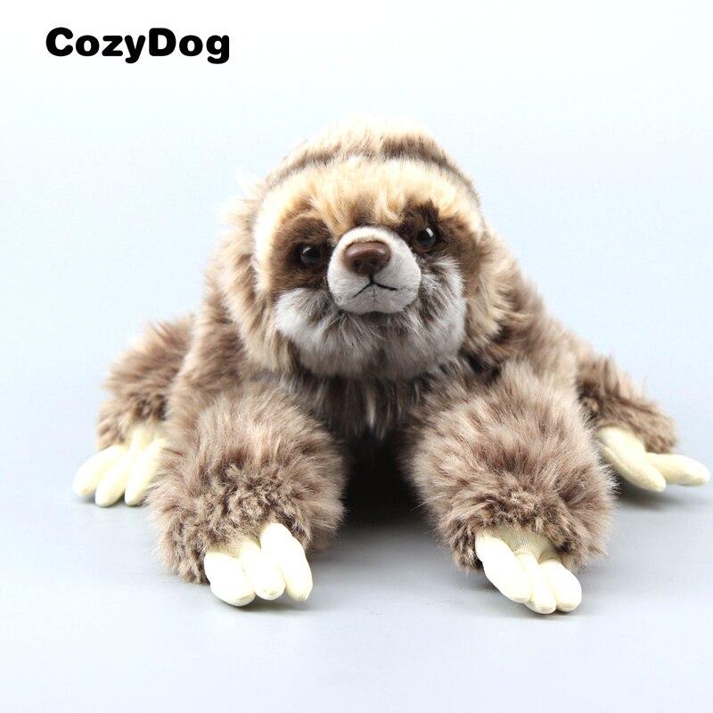 Drei-Toed Sloth Weiche Angefüllte Tiere SLOTH Plüsch Spielzeug 14