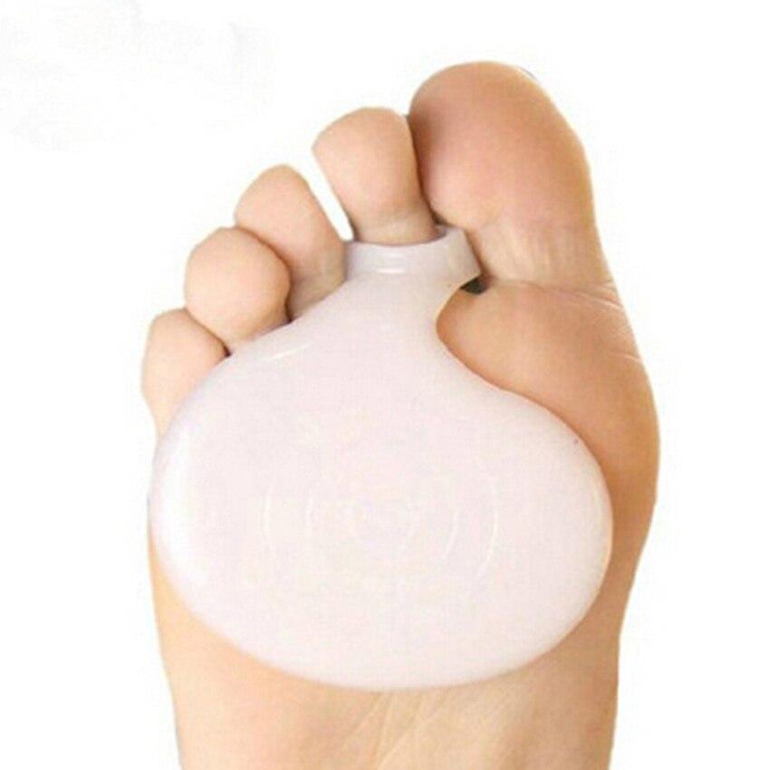 2Pcs Gel Silicone Toe Protectors Bunion Corrector gel Toe Protector Straightener Foot Care Tool Hallux Valgus Corrector