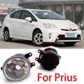 Dongzhen автоаксессуары автомобильные СВЕТОДИОДНЫЕ передние противотуманные фары строб линия группа Для Toyota Prius 2010-2013 стайлинга автомобилей парковка