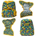 JinoBaby Fraldas De Pano Duplo Reforço Fralda Covers Reutilizáveis Fraldas Do Bebê Couche Lavable Impermeável Diaper Cover (Sem Inserção)