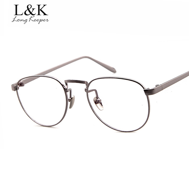 Aliexpress.com : Buy Long Keeper Women Men Round Glasses Frame transparent  Elegant Eyeglass Cheap Clear Lens Eyewears Goggles Without Degree 551Q from  ...