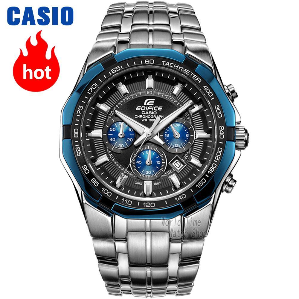 Casio watch Racing Men s Watch Sports Waterproof Quartz Watch EF 540D 1A2 EF 539D 1A2