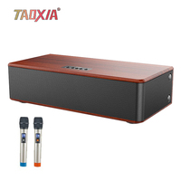 Echo Wall Karaoke TV Audio Multi function Home Theater Living Room Remote Control Bluetooth One Speaker