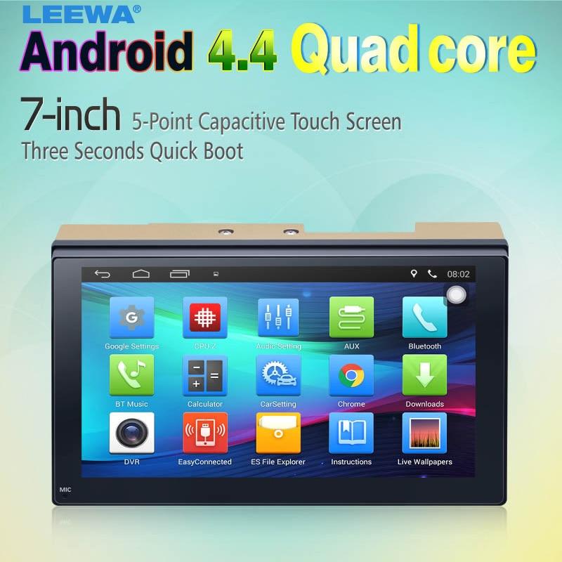 imágenes para 7 pulgadas Ultra Delgado del Androide 4.4.2 Quad Core Reproductor Multimedia Del Coche Con GPS Navi de Radio Para Nissan/Hyundai 2DIN ISO #3887