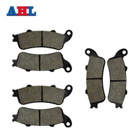 Motorcycle Parts Front Rear Brake Pads Kit For HONDA GL1800 2001 2013 NRX1800 2004 2005 VTX1800