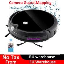 WiFi 2018 カメラガードビデオ通話マップ ワイヤレス掃除機ロボット